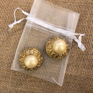 Jewelry - Gold Clip on Earrings
